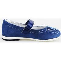 Pantofi Fete Balerin și Balerini cu curea Didiblu AG487 Albastru