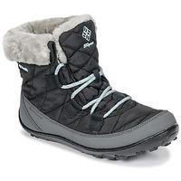 Pantofi Copii Cizme de zapadă Columbia YOUTH MINX SHORTY OMNI-HEAT™ WATERPROOF Negru