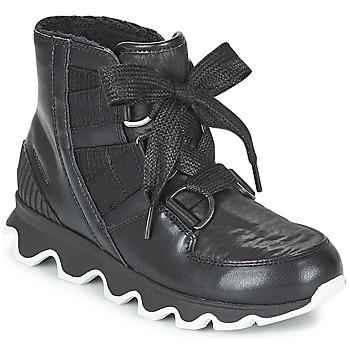 Încăltăminte Femei Cizme de zapadă Sorel KINETIC™ SHORT LACE Negru