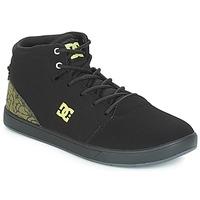 Pantofi Copii Pantofi sport stil gheata DC Shoes CRISIS HIGH SE B SHOE BK9 Negru / Verde