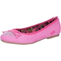 Pantofi Fete Balerin și Balerini cu curea Lulu Pantofi De Balerină AG639 Roz