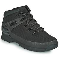 Pantofi Bărbați Ghete Timberland Euro Sprint Fabric WP Negru