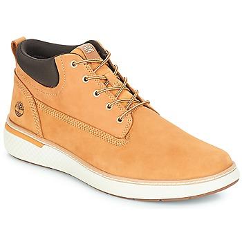 Încăltăminte Bărbați Pantofi sport stil gheata Timberland Cross Mark PT Chukka Galben-grâu