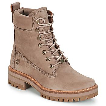 Pantofi Femei Ghete Timberland Courmayeur Valley YBoot Taupe