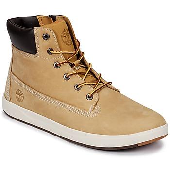 Pantofi Copii Pantofi sport stil gheata Timberland Davis Square 6 Inch Boot Maro