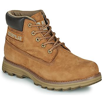 Pantofi Bărbați Ghete Caterpillar FOUNDER Maro