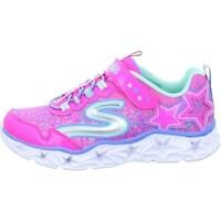 Pantofi Fete Pantofi sport Casual Skechers Galaxy Lights Kinder Roz