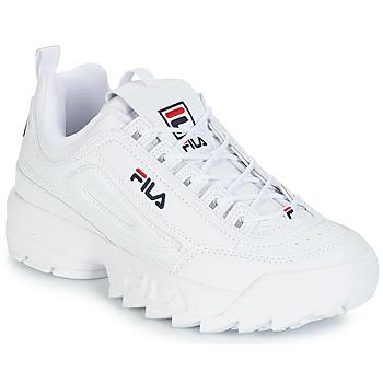 Pantofi Bărbați Pantofi sport Casual Fila DISRUPTOR LOW Alb