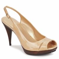 Pantofi Femei Sandale și Sandale cu talpă  joasă Stuart Weitzman ARAGON Bej