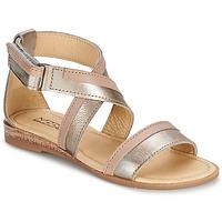 Pantofi Fete Sandale și Sandale cu talpă  joasă Mod'8 JOYCE Auriu