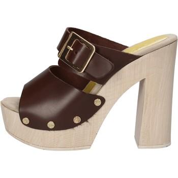 Pantofi Femei Sandale  Suky Brand sandali marrone pelle AC764 marrone