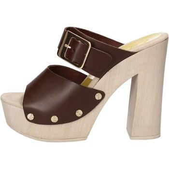Pantofi Femei Sandale  Suky Brand sandali marrone pelle AC765 marrone