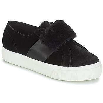 Pantofi Femei Pantofi sport Casual Superga 2750-LEAPATENTW Negru