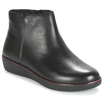 Pantofi Femei Ghete FitFlop ZIGGY ZIP Negru