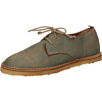 Pantofi Femei Pantofi Oxford  Moma classiche verde pelle AD49 Verde