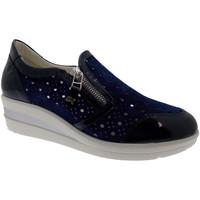 Pantofi Femei Pantofi cu toc Melluso MWR20166bl blu