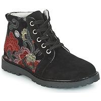 Pantofi Fete Ghete Catimini CAHAUT Negru