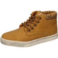 Pantofi Băieți Pantofi sport stil gheata Blaike sneakers giallo pelle AD702 Giallo