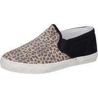 Pantofi Fete Pantofi Slip on Date Adidași AD837 Negru