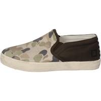 Pantofi Băieți Pantofi Slip on Date Aluneca Pe AD846 Verde