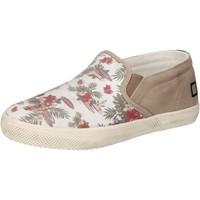 Pantofi Fete Pantofi Slip on Date Adidași AD848 Alb