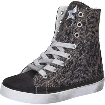 Pantofi Fete Pantofi sport stil gheata 2 Stars Adidași AD884 Gri