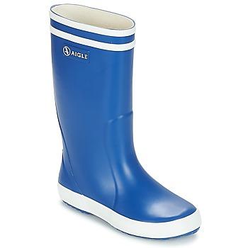 Pantofi Copii Cizme de ploaie Aigle LOLLY POP Albastru