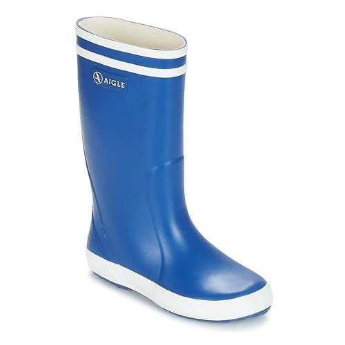 Pantofi Copii Cizme de cauciuc Aigle LOLLY POP Albastru