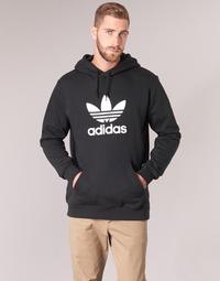 Îmbracaminte Bărbați Hanorace  adidas Originals TREFOIL HOODIE Negru