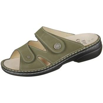 Pantofi Femei Papuci de vară Finn Comfort Torbole Oliv