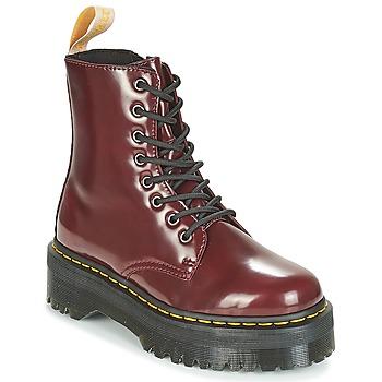 Pantofi Ghete Dr Martens JADON Bordo