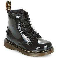 Pantofi Fete Ghete Dr Martens 1460 PATENT CADET Negru
