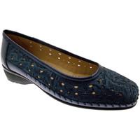 Pantofi Femei Balerin și Balerini cu curea Calzaturificio Loren LOK3983bl blu