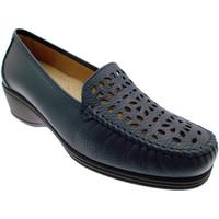 Pantofi Femei Mocasini Calzaturificio Loren LOK3987bl blu