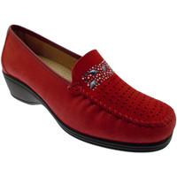 Pantofi Femei Mocasini Calzaturificio Loren LOK3988ro rosso