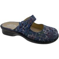 Pantofi Femei Papuci de vară Calzaturificio Loren LOM2709bl blu