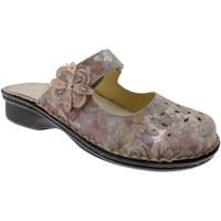 Pantofi Femei Papuci de vară Calzaturificio Loren LOM2709ci blu
