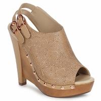 Pantofi Femei Saboti Zandra Rhodes BROWNWYN Bej-nisip