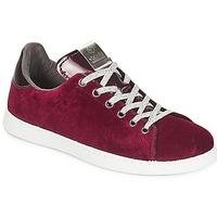 Pantofi Femei Pantofi sport Casual Victoria DEPORTIVO TERCIOPELO Roșu-bordeaux