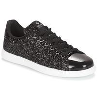 Pantofi Femei Pantofi sport Casual Victoria DEPORTIVO BASKET GLITTER Negru