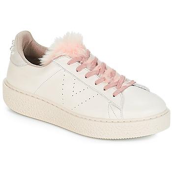 Pantofi Femei Pantofi sport Casual Victoria DEPORTIVO PIEL PERLAS Bej