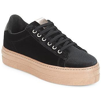 Încăltăminte Femei Pantofi sport Casual Victoria DEPORTIVO TERCIOPELO/CARAM Negru