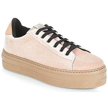 Încăltăminte Femei Pantofi sport Casual Victoria DEPORTIVO TERCIOPELO/CARAM Bej