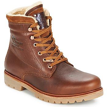 Pantofi Bărbați Ghete Panama Jack PANAMA Maro