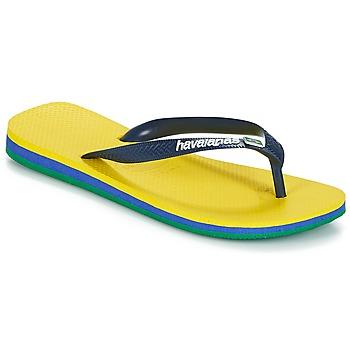 Pantofi  Flip-Flops Havaianas BRASIL LAYERS Galben