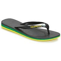 Încăltăminte Bărbați  Flip-Flops Havaianas Brasil Layers Negru