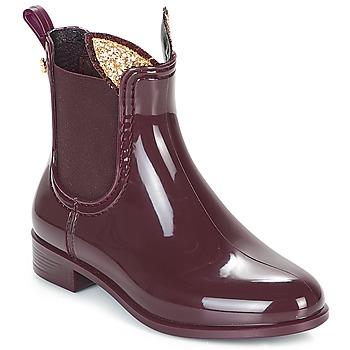 Pantofi Fete Cizme de ploaie Lemon Jelly FAWN Roșu-bordeaux