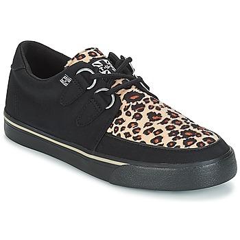 Pantofi Pantofi sport Casual TUK SNEAKER CREEPER Negru / Maro