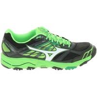 Pantofi Bărbați Trail și running Mizuno Wave Mujin 4 Noir Vert Negru