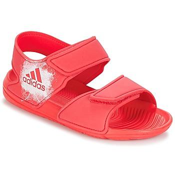 Încăltăminte Fete Sandale și Sandale cu talpă  joasă adidas Performance ALTASWIM C Roz